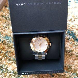 MARC JACOB women's two-tone watch